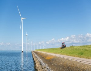 Arrangement Energie van wind